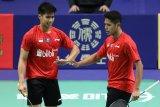 Pasangan ganda putra Indonesia ini kecewa saat kalah lawan Jepang