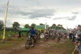 Ratusan pembalap ramaikan Kejuaraan Balap Sepeda Baturaja