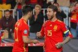 Ramos pecahkan rekor paling banyak bela Timnas Spanyol