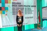 Bawaslu Kulon Progo deklarasi lima desa antipolittik uang