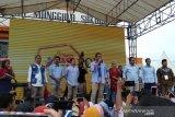 Ribuan orang hadiri kampanye terbuka Sandiaga