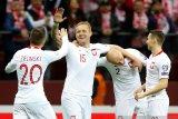 Hasil kualifikasi Grup G, Polandia gulung Latvia dan Israel tekuk Austria