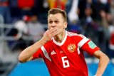 Rusia gulung Kazakhstan 4-0 di kualifikasi Euro 2020