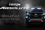 Mitsubishi Motors luncurkan Triton Absolute di Bangkok