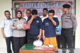 Dua pencuri getah karet di Temanggung dibekuk