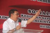 Bupati perintahkan penyelesaian batas desa