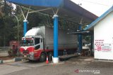Jalan tol dibuka, volume truk di Jembatan Timbang Subah anjlok