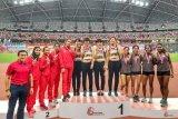 Indonesia bawa pulang dua medali emas kejuaraan atletik di Singapura