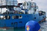 Kapal sempat kandas, namun logistik pemilu dalam kondisi aman