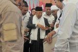 Kunjungan Cawapres 01Maruf Amin ke Palembang