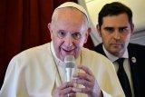 Paus Fransiskus: Messi sangat hebat, tetapi dia bukan Tuhan