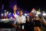 Presiden Jokowi bersama istri bermalam di Kota Sorong
