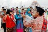 Parade pencanangan Hari Kebudayaan kota Makassar