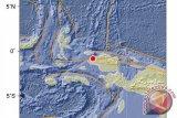 Papua terkini - Gempa magnitudo 2,1 guncang Sorong