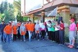 Jalan santai meriahkan HUT ke 106 Kabupaten Solok