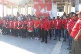 Sturman lantik puluhan relawan pemenangan Jokowi-Ma'ruf Amin