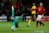 Manchester United telan kekalahan di markas Wolverhampton
