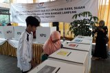 KPU Kota Bandarlampung Simulasi Pemungutan Suara dan Rekapitulasi
