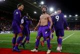 Liverpool kembali ke puncak Liga Inggris, setelah tekuk Southhampton 3-1