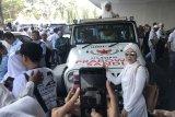 Jeep Prabowo Subianto jadi wahana berfoto