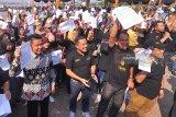 Ratusan warga Palembang pecahkan rekor Muri lewat