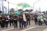 KPU Barito Utara harapkan 'Pemilu Fun Run' tingkatkan partisipasi pemilih