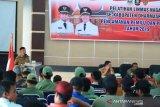 Dharmasraya latih 104 anggota Satlinmas hadapi Pemilu