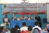 Kemenkumham Sulbar gelar sosialisasi hukum di Pulau Karampuang