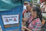 Jajanan gratis di kampanye akbar Prabowo