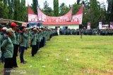 1.016 Linmas di Kabupaten Solok bantu amankan pemilu 2019