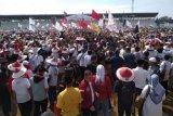 Joko Widodo optimis raup 60 persen suara di Karawang