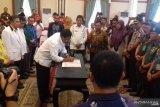Seluruh ketua parpol di Kepri deklarasi pemilu damai