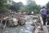 Satu rumah hancur diterjang banjir bandang di Deli Serdang