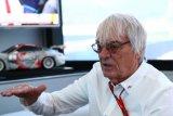 Ecclestone melirik masa depan balap mobil elektrik jelang Grand Prix