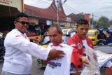 Relawan Masuk Pasar upaya menangkan Jokowi-Ma'ruf di Tanah Datar