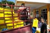 KPU distribusi logistik Pemilu ke wilayah terpencil Mamasa