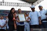 Peringatan Kementerian BUMN ke-21  pecahkan 3 rekor MURI