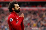 Penyerang Liverpool Mohamed Salah dampingi Aguero di puncak top skor