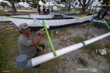 Nelayan kembalikan perahu bantuan