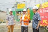 Industri aspal hotmix dialiri gas bumi PGN