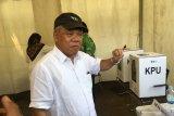 Menteri PUPR mengaku deg-degan saat nyoblos di Komplek Widya Candra