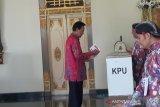 Jokowi-Ma'ruf unggul di TPS Sri Sultan HB X mencoblos