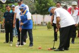 Menteri PUPR membuka Turnamen Gateball Bupati Sleman Cup 2019