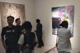 Kelompok Klik pamerkan seni rupa di Candi Borobudur
