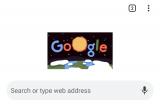 Flora-fauna tampil di Google Doodle pada Hari Bumi