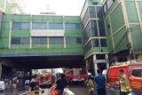Kebakaran Pasar Blok C Tanah Abang diduga akibat arus pendek listrik