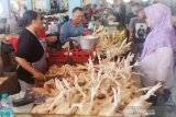 Harga ayam potong di Sampit mulai naik