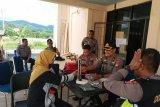 Dokkes Polda Sulbar periksa kesehatan petugas PPK Mamuju