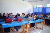1.696 siswa SMP/MI Mamuju Tengah ikuti UNBK