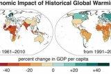 Studi : Peningkatan ketimpangan ekonomi dunia dipicu pemanasan global